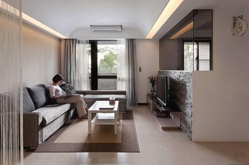 我的STYLE‧我的家:  客廳 by 禾光室內裝修設計 ─ Her Guang Design