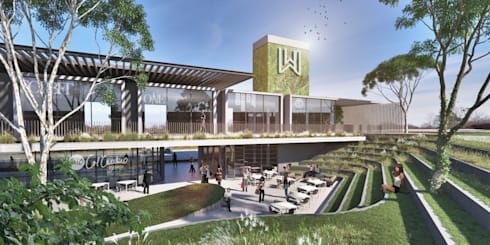 The Wedge:  Shopping Centres by bloc architects