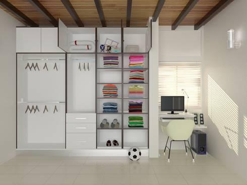 Habitaciones infantiles de estilo  por UNESPACIO360