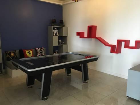 REPISAS: Habitaciones infantiles de estilo  por ENSAMBLE STUDIO