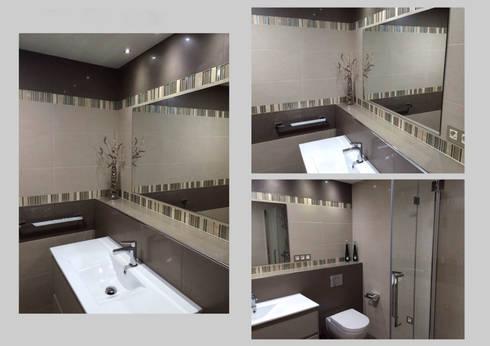 Resultado final: Baños de estilo  por Ana Benítez Estudio de Interiorismo