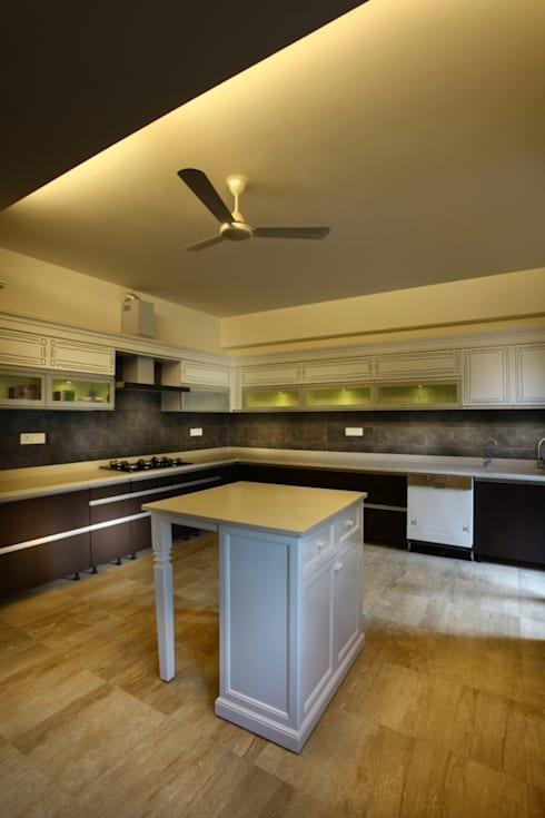 eclectic Kitchen by groupDCA