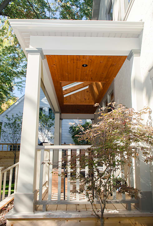 Westboro Carport + Deck:  Houses by Jane Thompson Architect