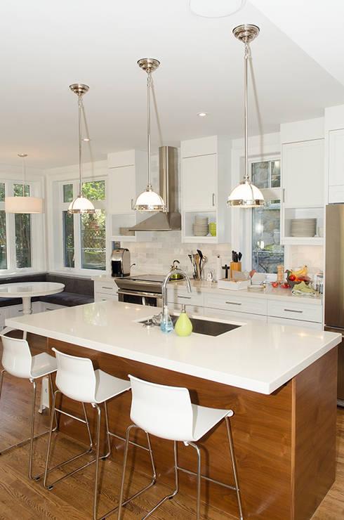 Lindenlea Addition + Renovations:  Kitchen by Jane Thompson Architect