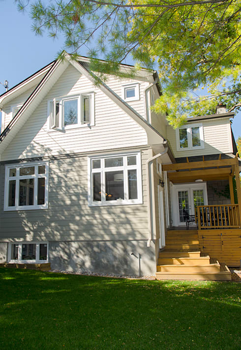 Lindenlea Addition + Renovations:  Houses by Jane Thompson Architect