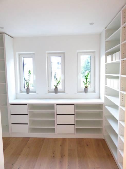 غرفة الملابس تنفيذ alegroo - interior design