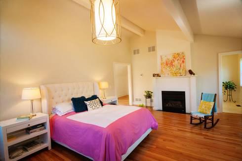Chandler Project - Master Bedroom: modern Bedroom by New Leaf Home Design