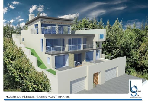 HOUSE DU PLESSIS—GREEN POINT, CAPE TOWN:   by BLUE SKY Architecture