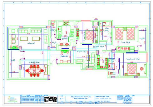 شارع عبد الحكيم الرفاعي - مدينة نصر:   تنفيذ Falcon Contracting & Project Management