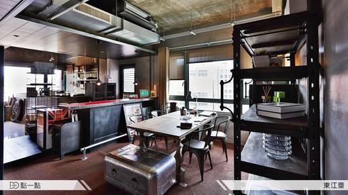 東江齋空間設計:  廚房 by iDiD點一點設計