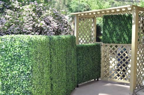Artificial hedges for garden decorative: classic Garden by Sunwing Industries Ltd