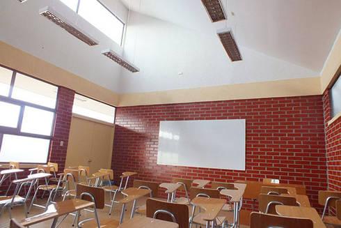 Centro de Formación Técnica EDUCAP: Estudios y biblioteca de estilo  por Domus Eaton | Arquitectura y construccion