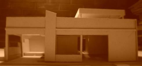 Proyecto de Ampliacion Vivienda Urbanizacion Canaima II. Guatire Estado Miranda : Casas de estilo moderno por Arquitectura Feng Shui Laura Ramirez
