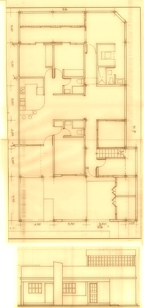 Proyecto de Ampliacion Vivienda Urbanizacion Canaima II. Guatire Estado Miranda : Anexos de estilo moderno por Arquitectura Feng Shui Laura Ramirez