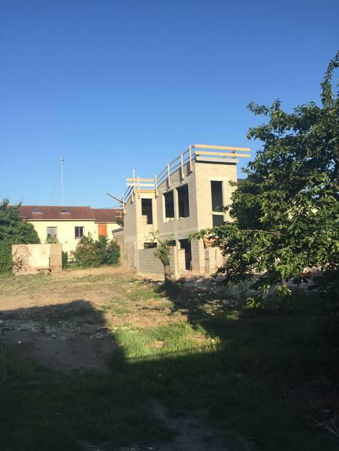 Demolition extension surelevation d 39 une maison - Acces chantier maison individuelle ...