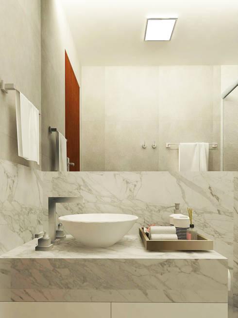 Baños de estilo  por Brenda Borges