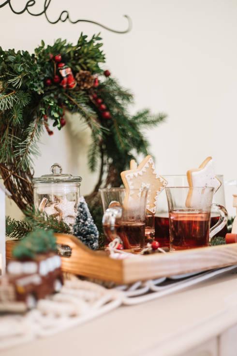 Christmas Brunch: Casa  por Sara Marilda Photographer