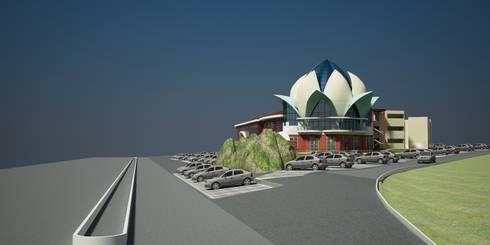 Wayside Inn for GTDC, Pernem, Goa.: modern Houses by SILVERFERNS DESIGN INNOVATION