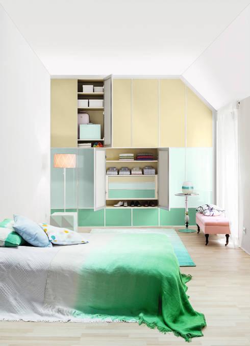 CABINET – Çatı katı alanınızı genişletin: modern tarz Yatak Odası