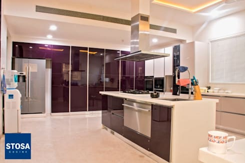 Stosa Cucine India. Latest Installation at Indore by | homify