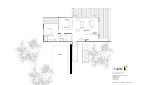 House Nel:   by Inizio homes