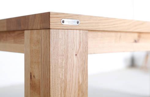 Design Esstische nach Maß von Goldau & Noelle Möbelmanufaktur | homify