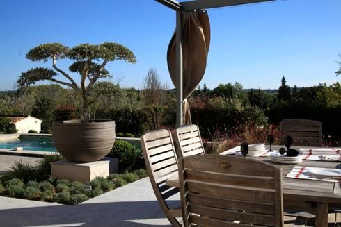 Aix en provence jardin d co par conceptuelles paysage - Abri de jardin flovene aixen provence ...