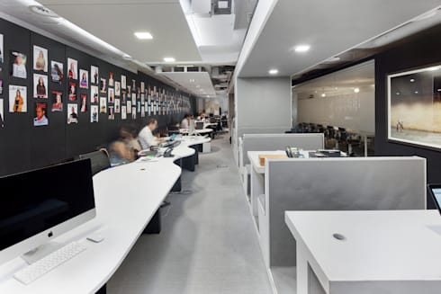Espaço de Trabalho: Escritórios  por GAVINHO Architecture & Interiors