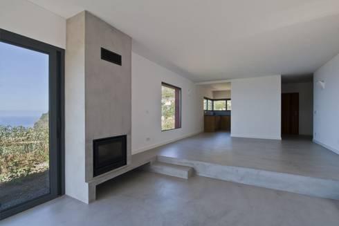 Sala de Estar: Salas de estar minimalistas por Mayer & Selders Arquitectura