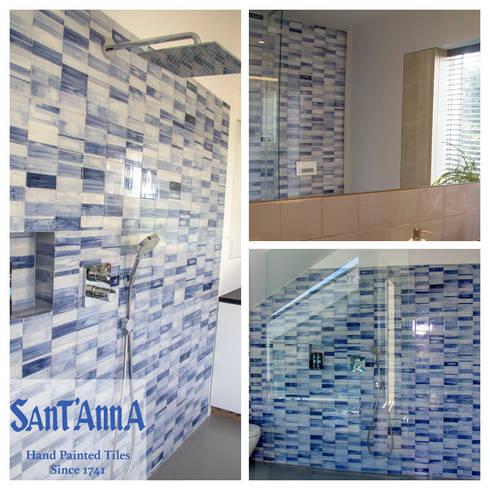 Casa-de-Banho: Casas de banho modernas por Sant'Anna