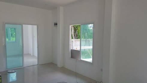 บ้านเดี่ยว:   by สถาปนิกสร้างสรรค์
