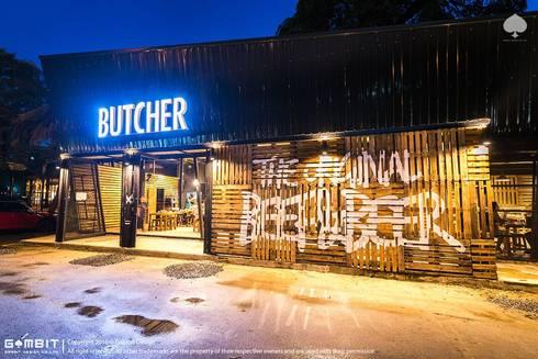Butcher Beef & Beer:   by GAMBIT DESIGN CO.,LTD