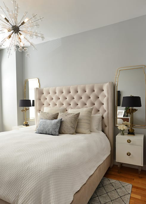 Hamilton St: classic Bedroom by Mel McDaniel Design