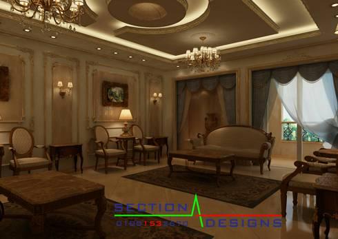 الشروق:  منازل تنفيذ section designs