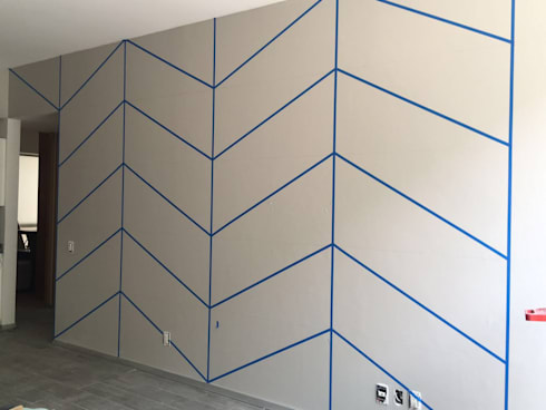 Remodelación Departamento Adolfo Prieto:  de estilo  por Diseño Distrito Federal