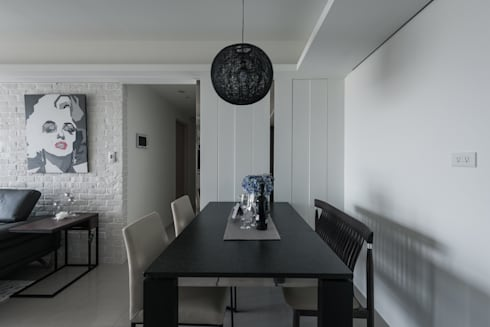 貼心巧思:  餐廳 by 你你空間設計