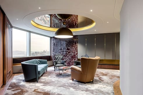 VMS Investment Group Headquarters, Hong Kong, by Aedas Interiors - VIP Room:   by Aedas