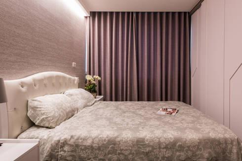 古典唯美:  臥室 by 你你空間設計
