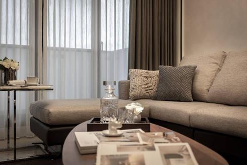 家具配置:  客廳 by 你你空間設計