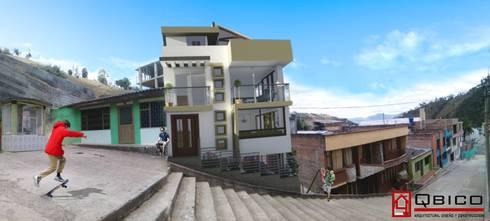 Diseños en Nariño: Casas de estilo rural por Q bico
