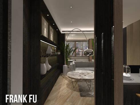 Villa in City:  走廊 & 玄關 by 中孚 設計 / FRANKFU INERIOR DESIGN