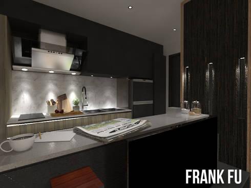 Villa in City:  廚房 by 中孚 設計 / FRANKFU INERIOR DESIGN
