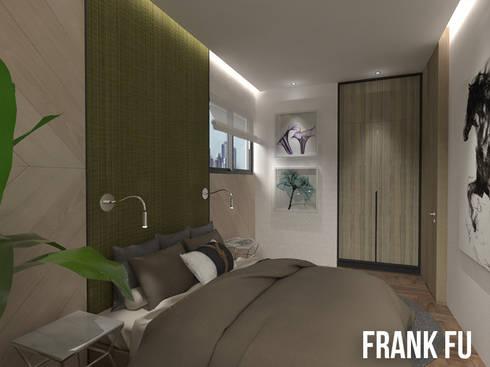 Villa in City:  臥室 by 中孚 設計 / FRANKFU INERIOR DESIGN