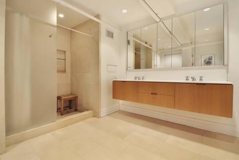 Peabody Loft and Studio: modern Bathroom by SA-DA Architecture
