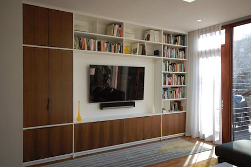 Adelphi Street: modern Living room by SA-DA Architecture