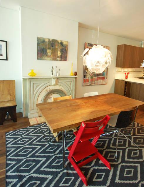 Adelphi Street: modern Dining room by SA-DA Architecture