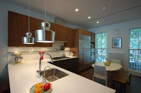 Adelphi Street: modern Kitchen by SA-DA Architecture