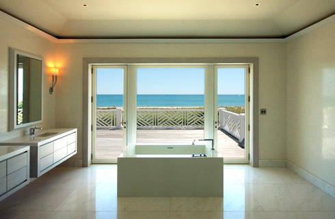 Dune House: modern Bathroom by SA-DA Architecture