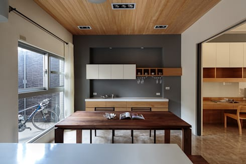無印良品風:  廚房 by IDR室內設計