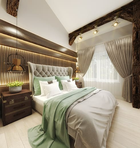 غرفة نوم تنفيذ decoroom